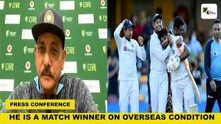 Ravi Shastri makes a huge statement on Gabba test win hero Rishabh Pant | INDvsAUS
