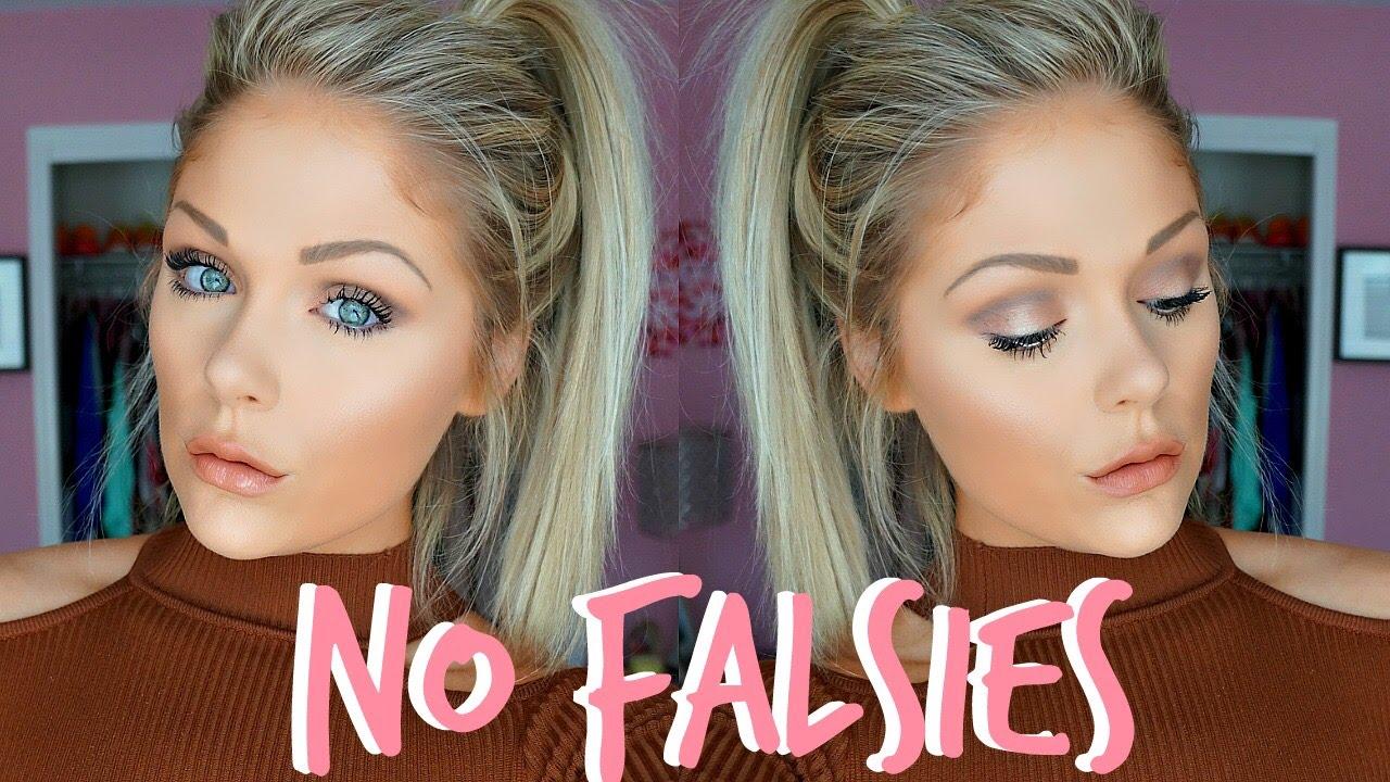 Everyday Makeup Tutorial Without False Lashes Youtube