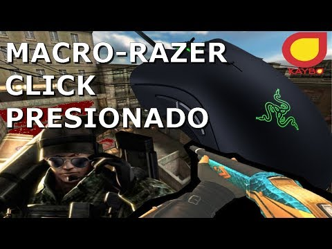 USANDO EL MACRO-RAZER   POINTBLANK KAYBO