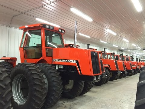 Amazing Allis Chalmers Tractor Collection on Wisconsin Online Auction