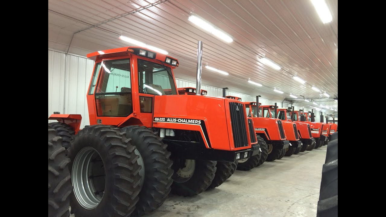 Amazing Allis Chalmers Tractor Collection On Wisconsin