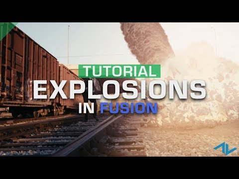 How to Add Explosions to Your Scene | Fusion