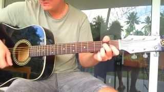 Guitare Blues : Grille d'accords (I-IV-V) et Rythme de Base