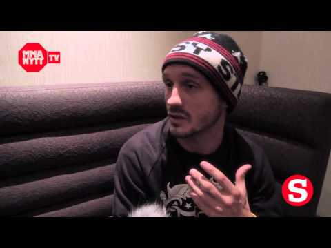UFC 138 - Open Workout Brad Pickett interview