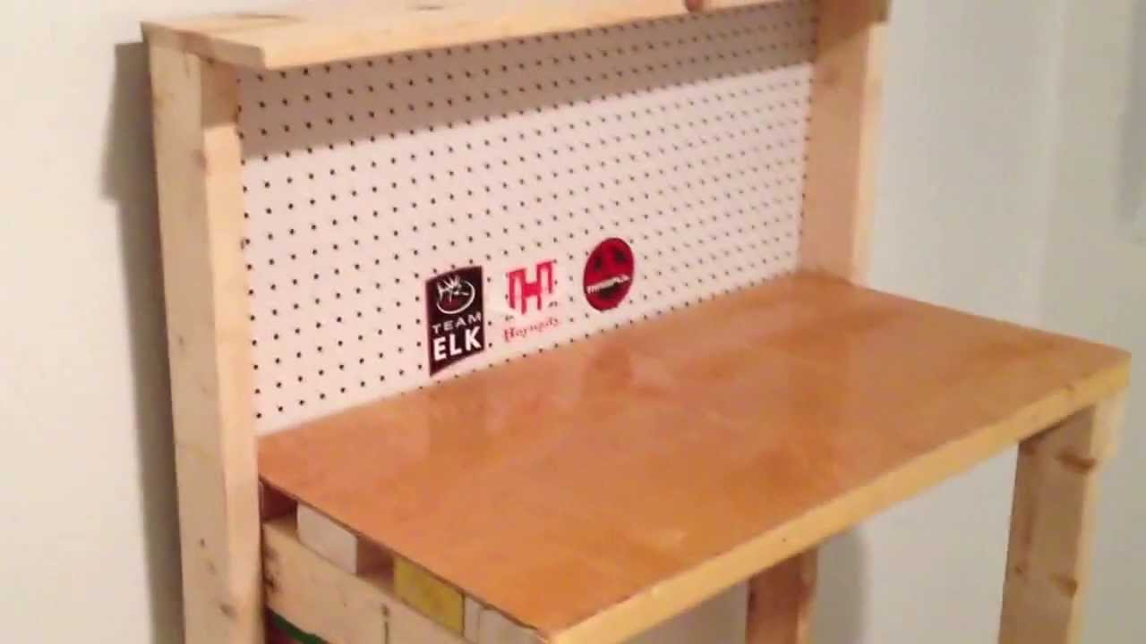Build A Reloading Bench For Under 20 Youtube