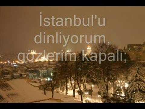 Orhan Veli Kanik Istanbulu Dinliyorum Youtube