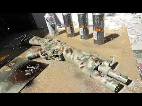 Best Camo Paint For Guns