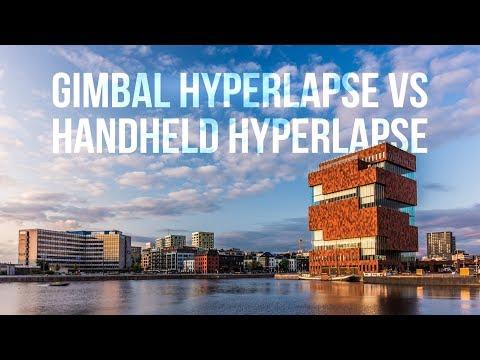 GIMBAL Hyperlapse Vs HANDHELD Hyperlapse Ft. DJI Osmo Pocket