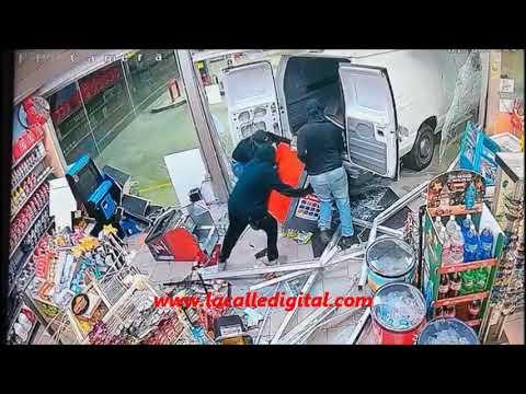Pillos Mediocres... Robo En Gasolinera Puma De Hormigueros 01-09-19