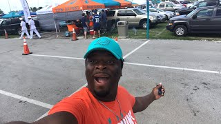 Tailgate livestream experience. Miami Dolphins