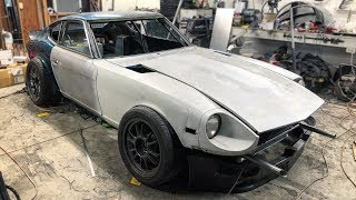 Mounting The 240z Body Panels Is... A Little Tricky... Anyone Got Spares?