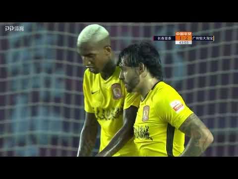 Changchun Yatai VS. Guangzhou Evergrande All Goals 11/08/2018
