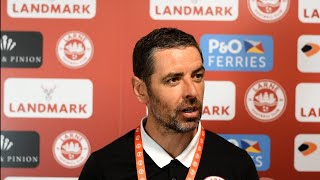 MATCH REACTION   Larne 2-1 AGF Aarhus   UECL Second Qualifying Round First Leg