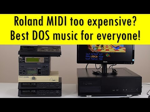 Cheap Roland DOS MIDI and more with the Beelink M1 Mini PC