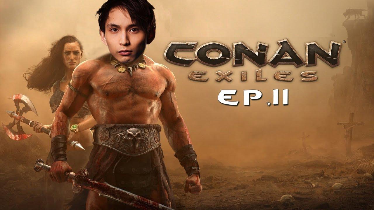 SingSing & BlackDotATV Conan Exiles Co-op (Ep.11)