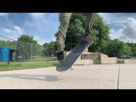 How to BS 180 LATE FLIP