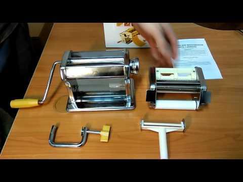 Машинка для раскатывания теста для пасты Брадекс