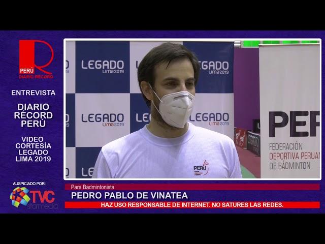 #VideoCortesía | Parabadmintonista Pedro Pablo de Vinatea y el regreso a los entrenamientos