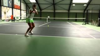 Laura Robson at the Laurense Tennis Academy Amsterdam