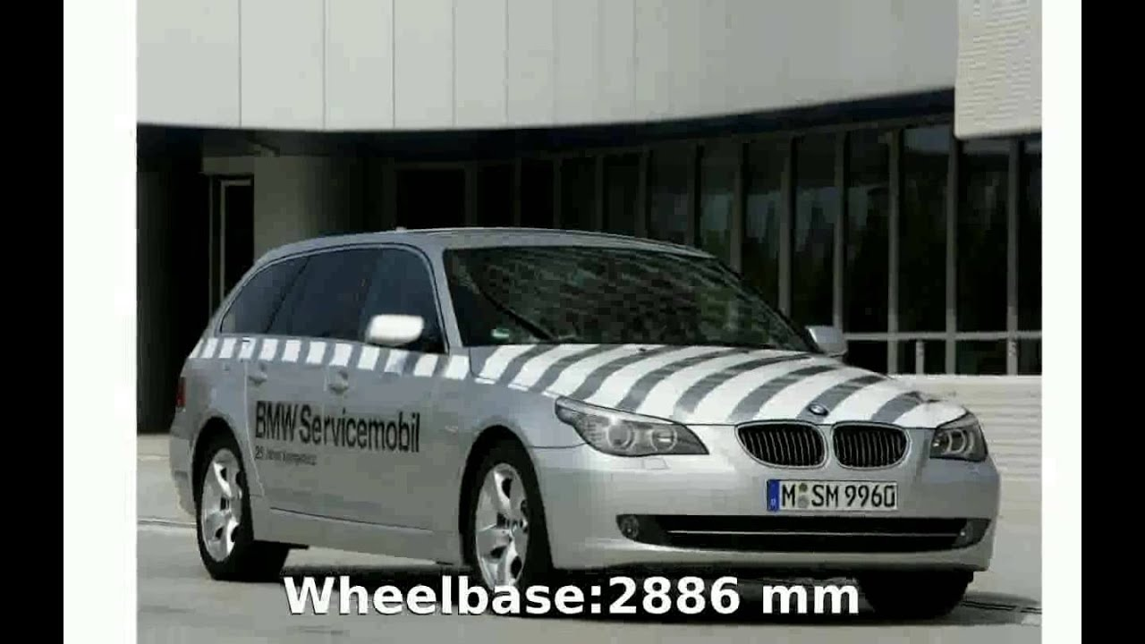 2005 BMW 525i Touring E61 Specification and Specs  YouTube