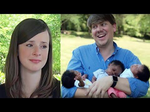 Эта женщина родила темнокожих тройняшек. Вот как ее муж отреагировал на это…!