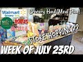 GROCERY HAUL & MEAL PLAN | WALMART | FAMILY OF 4 | 7/23/18