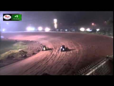 Amsoil Speedway USAC Sprints Feature Part 5 Dave Darland 100th win