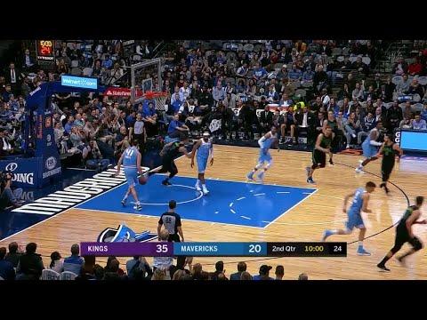 2nd Quarter, One Box Video: Dallas Mavericks vs. Sacramento Kings