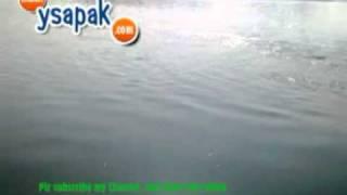 solar reflection in Mangla Dam lake, Beautiful sun rays in water