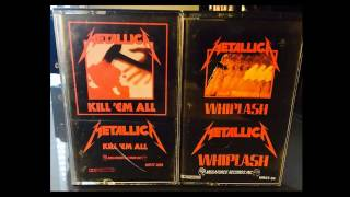 MEGAFORCE RECORDS - 1983 - Metallica Cassettes