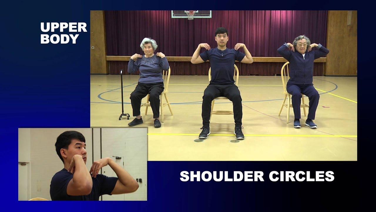 Full Body Flexibility Exercises for Seniors