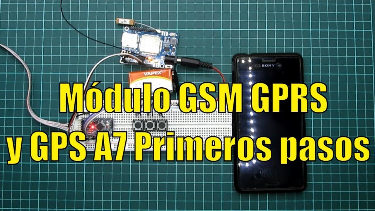 Módulo GSM GPRS y GPS A7 con arduino mini pro Primeros pasos – RogerBit