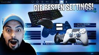 DIE BESTEN EINSTELLUNGEN FÜR CONTROLLERSPIELER! | Bauen wie die BESTEN PC Spieler | Amar
