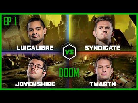 Ep 1 | DOOM 3 | Luicalibre vs Jovenshire vs TmarTn vs Syndicate | Legends of Gaming |
