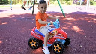 Paw Patrol Ride On Car 6V Childrens Park Playtime Fun With Ckn Toys