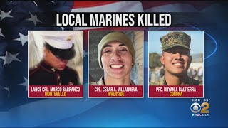 Military Identifies 8 Marines, Sailor Killed In Training Accident Off San Clemente Island