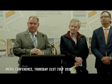 Queen Victoria Market Precinct Renewal Media Conference | City of Melbourne