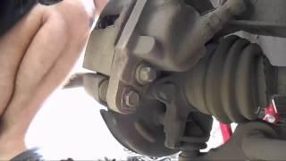 Замена передних тормозных колодок ВАЗ 2114 2115 2113 2109 2108 21099