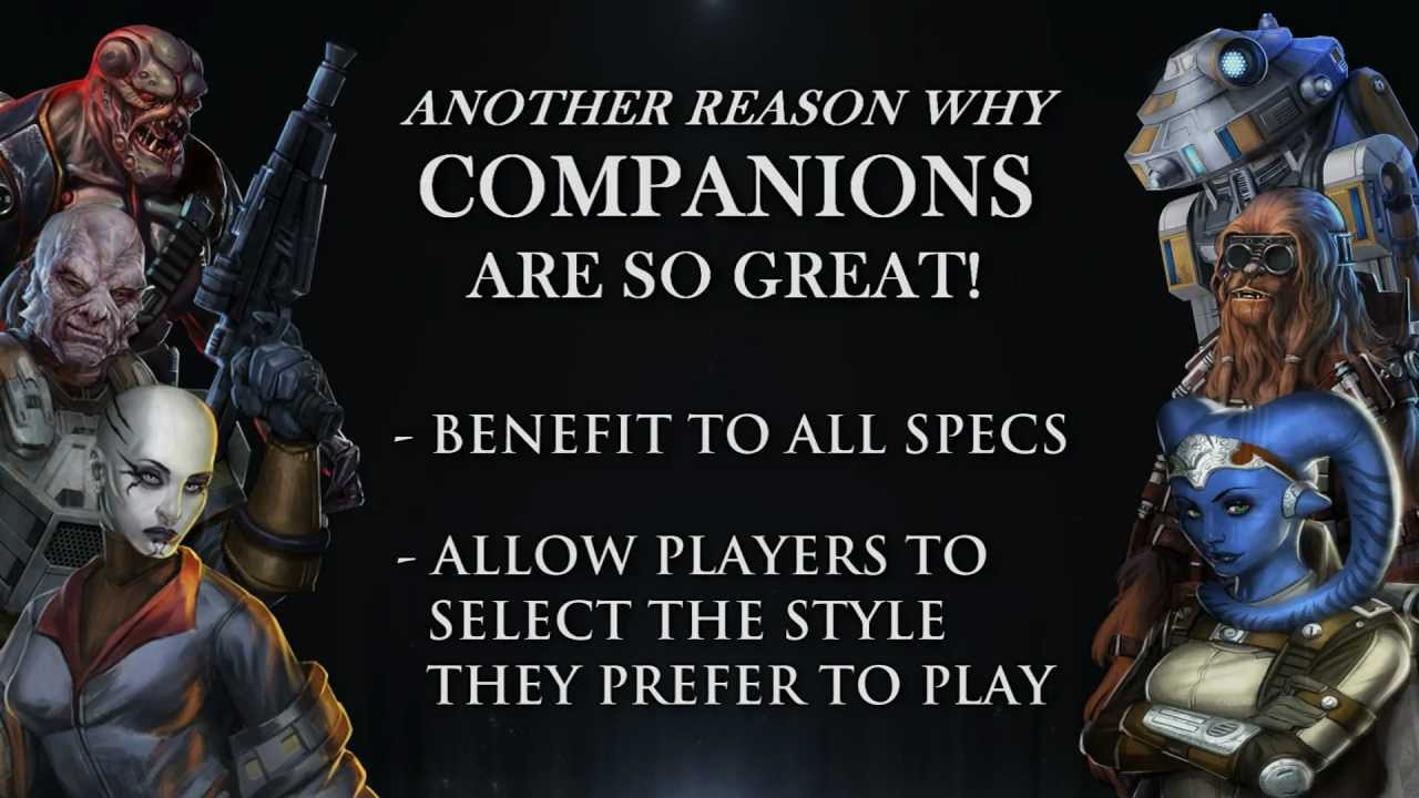 swtor how to get more companions
