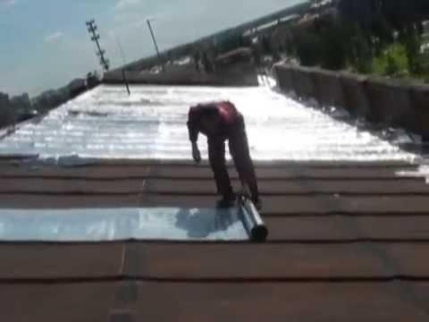видео: Течет Железная  Крыша. Гидроизоляция Кровли.