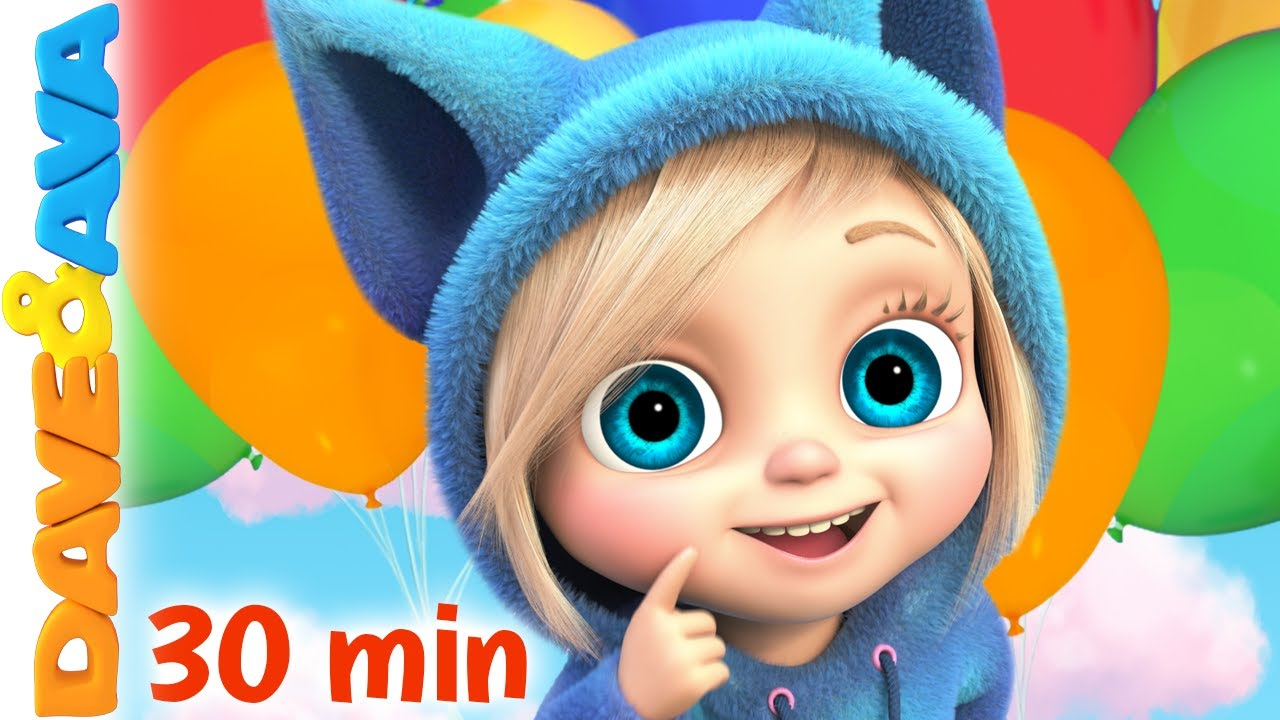 😃 If You're Happy and You Know It | Nursery Rhymes for Babies | Dave and Ava 😃