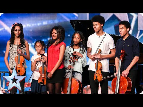 Musicians The Kanneh-Masons are keeping it in the family | Britain's Got Talent 2015