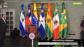 República Dominicana - Así concluyó el diálogo entre Gobierno y Oposición - VPItv