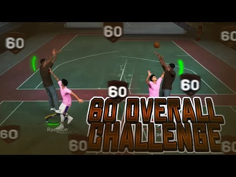 NBA 2K19 FUNNY 60 OVERALL CHALLENGE GONE WRONG!