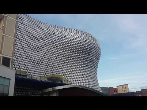 The Bullring in Birmingham, England