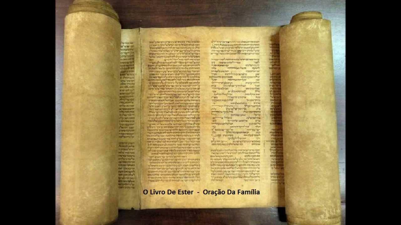 O livro de ester - oração da familia - A Biblia Narrada