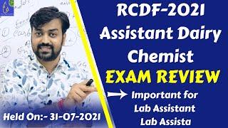 RCDF-2021 Assistant Dairy Chem…