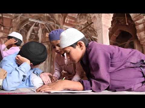 Madrasah in Taj-ul-Masjid, Bhopal, India