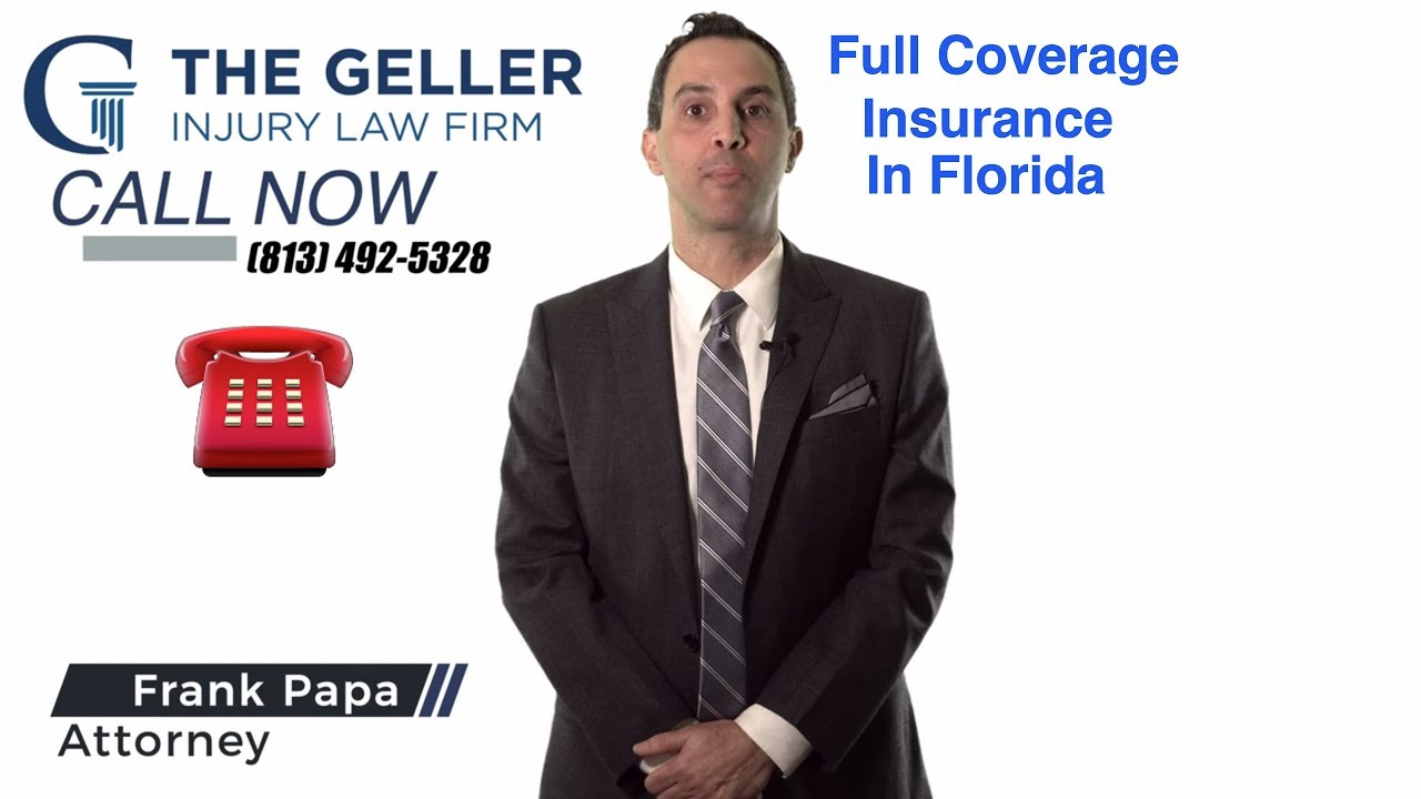 Full Coverage Insurance in the State of Florida - YouTube