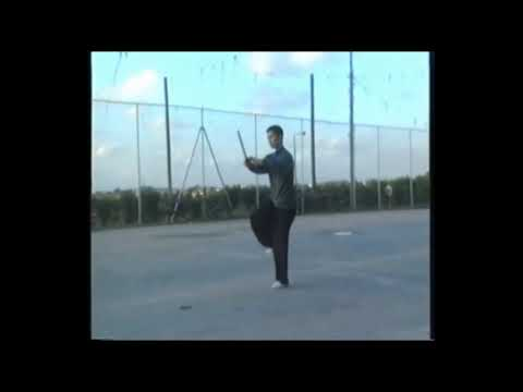 My first teacher Liu Haihe 32 Swordplay